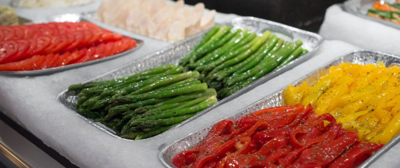 Fresh Steamed Cut Vegetables